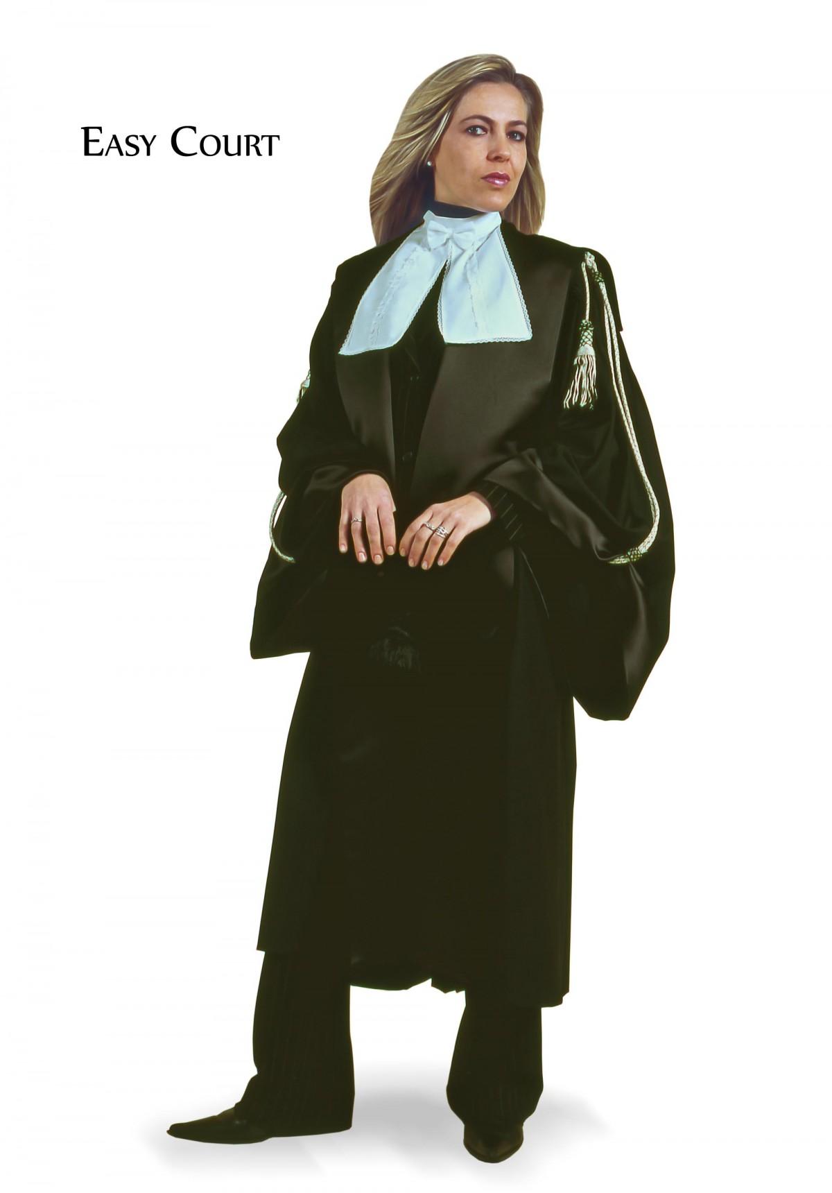 TOGA AVVOCATO DONNA EASY COURT TESSUTO TELA MISTO LANA